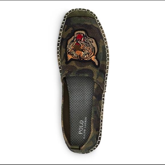 Camo Espadrille Lauren Ralph Shoes Baron Burlap qMVLpzGSU